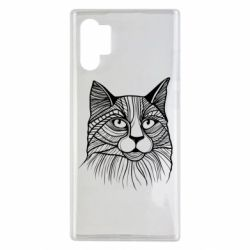 Чохол для Samsung Note 10 Plus Graphic cat