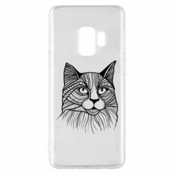 Чохол для Samsung S9 Graphic cat