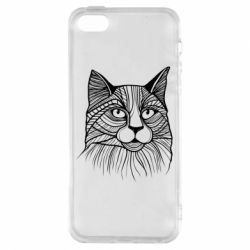 Чохол для iphone 5/5S/SE Graphic cat