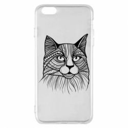 Чохол для iPhone 6 Plus/6S Plus Graphic cat
