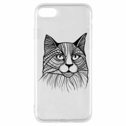 Чохол для iPhone 7 Graphic cat