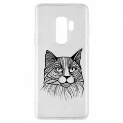 Чохол для Samsung S9+ Graphic cat