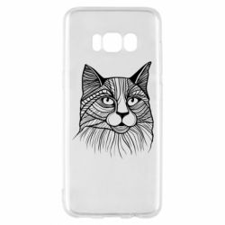 Чохол для Samsung S8 Graphic cat