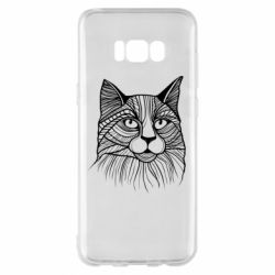 Чохол для Samsung S8+ Graphic cat