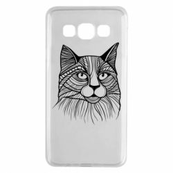 Чохол для Samsung A3 2015 Graphic cat