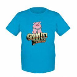 Детская футболка Гравити Фолз 2