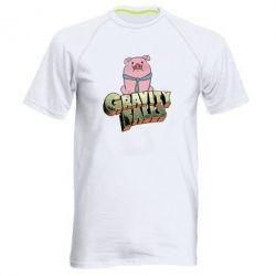 Мужская спортивная футболка Гравити Фолз 2