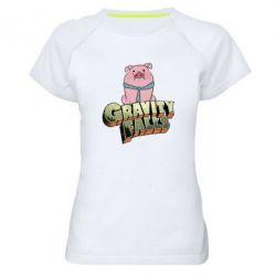 Женская спортивная футболка Гравити Фолз 2