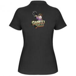Жіноча футболка поло Гравіті Фолз