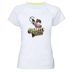 Жіноча спортивна футболка Гравіті Фолз