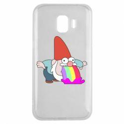 Чохол для Samsung J2 2018 Gravity Falls, dwarf and rainbow