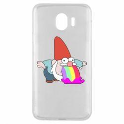 Чохол для Samsung J4 Gravity Falls, dwarf and rainbow