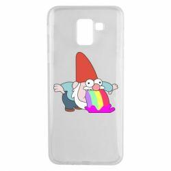 Чохол для Samsung J6 Gravity Falls, dwarf and rainbow