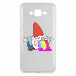 Чохол для Samsung J7 2015 Gravity Falls, dwarf and rainbow