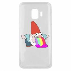 Чохол для Samsung J2 Core Gravity Falls, dwarf and rainbow