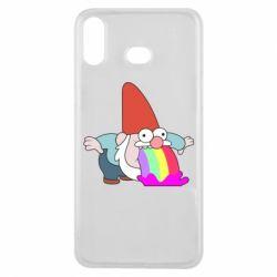 Чохол для Samsung A6s Gravity Falls, dwarf and rainbow