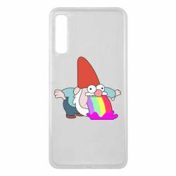 Чохол для Samsung A7 2018 Gravity Falls, dwarf and rainbow