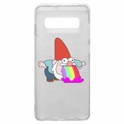 Чохол для Samsung S10+ Gravity Falls, dwarf and rainbow