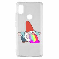 Чехол для Xiaomi Redmi S2 Gravity Falls, dwarf and rainbow