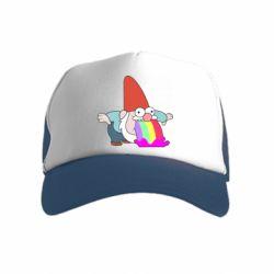 Дитяча кепка-тракер Gravity Falls, dwarf and rainbow