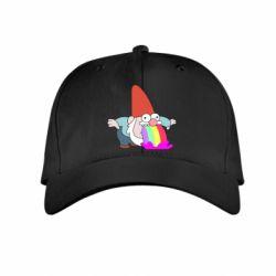 Дитяча кепка Gravity Falls, dwarf and rainbow