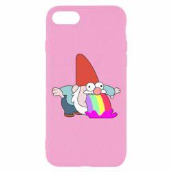 Чохол для iPhone 7 Gravity Falls, dwarf and rainbow