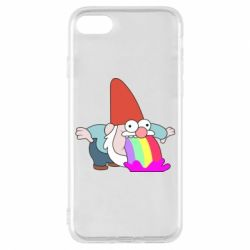 Чохол для iPhone 8 Gravity Falls, dwarf and rainbow