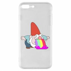 Чохол для iPhone 8 Plus Gravity Falls, dwarf and rainbow