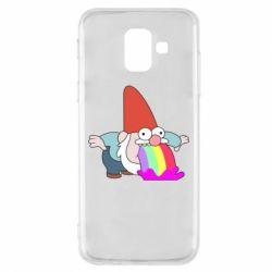 Чохол для Samsung A6 2018 Gravity Falls, dwarf and rainbow