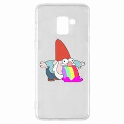 Чохол для Samsung A8+ 2018 Gravity Falls, dwarf and rainbow