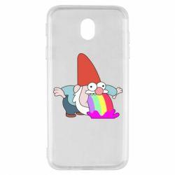 Чохол для Samsung J7 2017 Gravity Falls, dwarf and rainbow