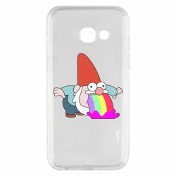 Чохол для Samsung A3 2017 Gravity Falls, dwarf and rainbow