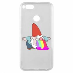 Чехол для Xiaomi Mi A1 Gravity Falls, dwarf and rainbow