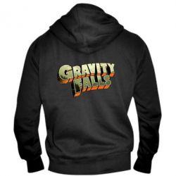 Мужская толстовка на молнии Gravity Falls - FatLine