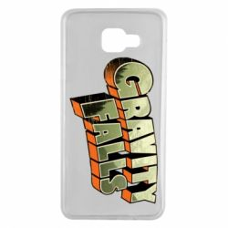 Чехол для Samsung A7 2016 Gravity Falls