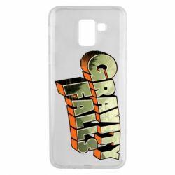 Чехол для Samsung J6 Gravity Falls