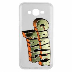 Чехол для Samsung J7 2015 Gravity Falls