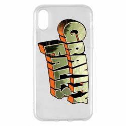 Чехол для iPhone X/Xs Gravity Falls
