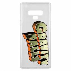 Чехол для Samsung Note 9 Gravity Falls