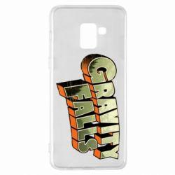 Чехол для Samsung A8+ 2018 Gravity Falls