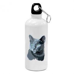 Купить Фляга Gray-blue cat, FatLine