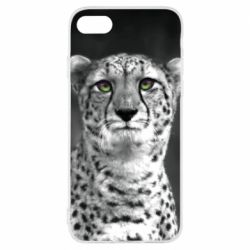 Чехол для iPhone 7 Gray cheetah - FatLine