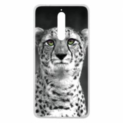 Чехол для Nokia 8 Gray cheetah - FatLine
