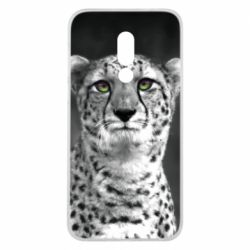 Чехол для Meizu 16 Gray cheetah - FatLine