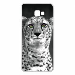 Чехол для Samsung J4 Plus 2018 Gray cheetah - FatLine
