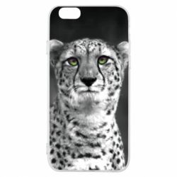 Чехол для iPhone 6/6S Gray cheetah - FatLine