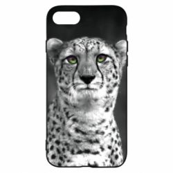 Чехол для iPhone 8 Gray cheetah - FatLine