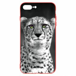 Чехол для iPhone 8 Plus Gray cheetah - FatLine