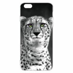 Чехол для iPhone 6 Plus/6S Plus Gray cheetah - FatLine