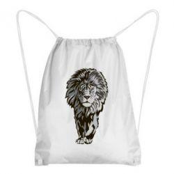 Купить Рюкзак-мешок Gray lion, FatLine